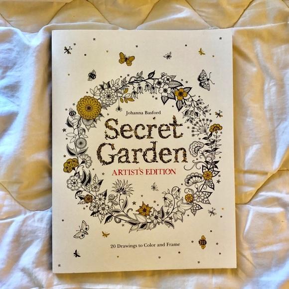 Secret Garden Coloring Book Artists Edition